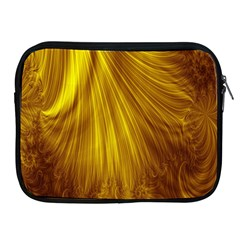 Flower Gold Hair Apple iPad 2/3/4 Zipper Cases