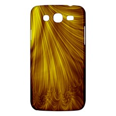 Flower Gold Hair Samsung Galaxy Mega 5.8 I9152 Hardshell Case