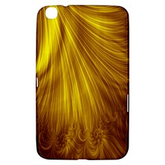 Flower Gold Hair Samsung Galaxy Tab 3 (8 ) T3100 Hardshell Case