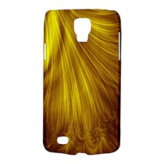 Flower Gold Hair Galaxy S4 Active