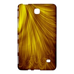 Flower Gold Hair Samsung Galaxy Tab 4 (8 ) Hardshell Case