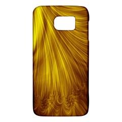 Flower Gold Hair Galaxy S6