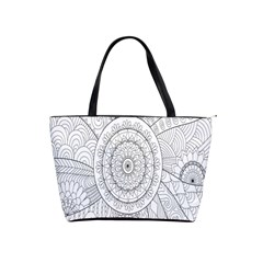 Flower Rose Flowering Sunflower Black Shoulder Handbags