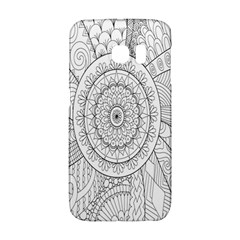 Flower Rose Flowering Sunflower Black Galaxy S6 Edge