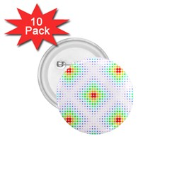 Color Square 1.75  Buttons (10 pack)