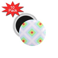 Color Square 1 75  Magnets (10 Pack)