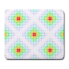 Color Square Large Mousepads