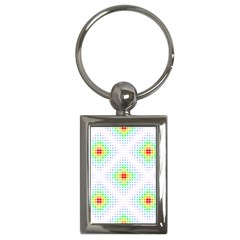 Color Square Key Chains (Rectangle)