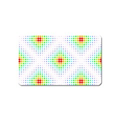 Color Square Magnet (Name Card)
