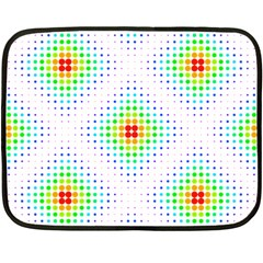 Color Square Fleece Blanket (mini)
