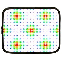 Color Square Netbook Case (XXL)