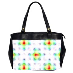 Color Square Office Handbags (2 Sides)