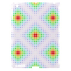 Color Square Apple iPad 3/4 Hardshell Case (Compatible with Smart Cover)
