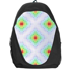 Color Square Backpack Bag