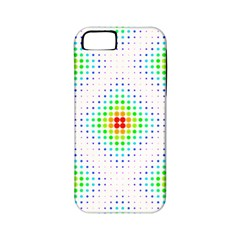 Color Square Apple iPhone 5 Classic Hardshell Case (PC+Silicone)