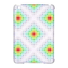 Color Square Apple iPad Mini Hardshell Case (Compatible with Smart Cover)