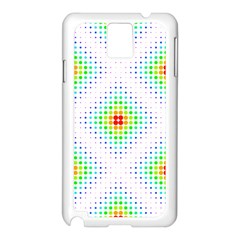 Color Square Samsung Galaxy Note 3 N9005 Case (White)