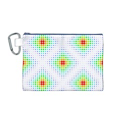Color Square Canvas Cosmetic Bag (m)