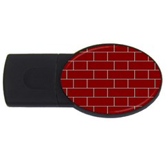 Flemish Bond USB Flash Drive Oval (2 GB)