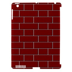 Flemish Bond Apple iPad 3/4 Hardshell Case (Compatible with Smart Cover)