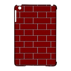 Flemish Bond Apple iPad Mini Hardshell Case (Compatible with Smart Cover)