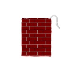 Flemish Bond Drawstring Pouches (xs)