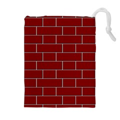 Flemish Bond Drawstring Pouches (extra Large)