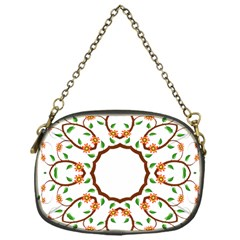 Frame Floral Tree Flower Leaf Star Circle Chain Purses (One Side)
