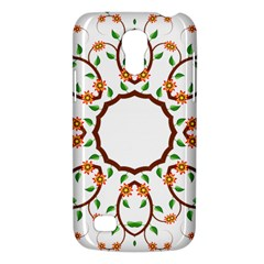 Frame Floral Tree Flower Leaf Star Circle Galaxy S4 Mini