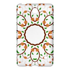 Frame Floral Tree Flower Leaf Star Circle Samsung Galaxy Tab 4 (8 ) Hardshell Case
