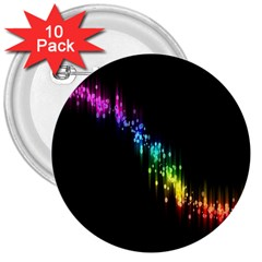 Illustrations Black Colorful Line Purple Yellow Pink 3  Buttons (10 pack)