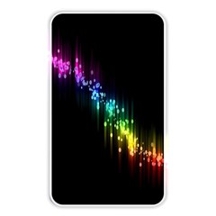 Illustrations Black Colorful Line Purple Yellow Pink Memory Card Reader