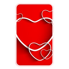 Heart Love Valentines Day Red Memory Card Reader