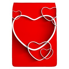 Heart Love Valentines Day Red Flap Covers (S)