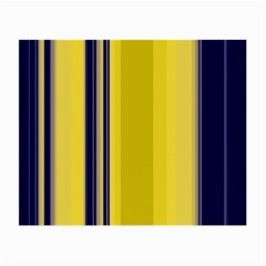 Yellow Blue Background Stripes Small Glasses Cloth