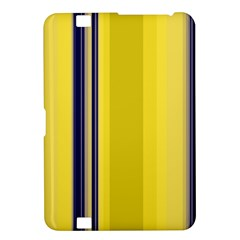 Yellow Blue Background Stripes Kindle Fire Hd 8 9