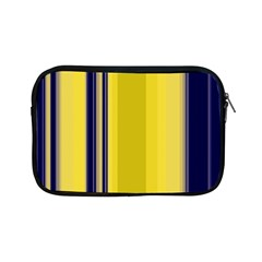 Yellow Blue Background Stripes Apple iPad Mini Zipper Cases