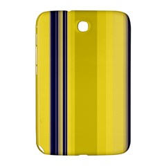 Yellow Blue Background Stripes Samsung Galaxy Note 8.0 N5100 Hardshell Case