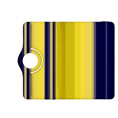 Yellow Blue Background Stripes Kindle Fire HDX 8.9  Flip 360 Case