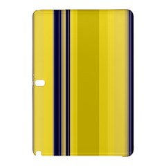 Yellow Blue Background Stripes Samsung Galaxy Tab Pro 12.2 Hardshell Case