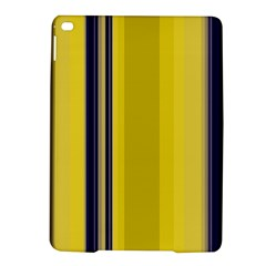 Yellow Blue Background Stripes iPad Air 2 Hardshell Cases