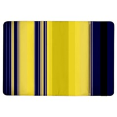 Yellow Blue Background Stripes Ipad Air 2 Flip