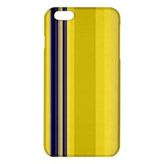 Yellow Blue Background Stripes iPhone 6 Plus/6S Plus TPU Case