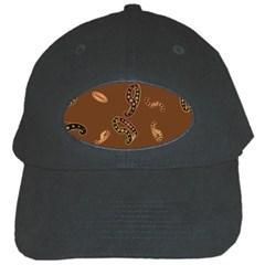 Brown Forms Black Cap