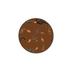 Brown Forms Golf Ball Marker (10 pack)