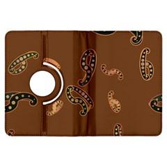 Brown Forms Kindle Fire HDX Flip 360 Case