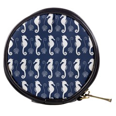 Seahorse And Shell Pattern Mini Makeup Bags