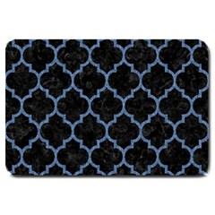 TIL1 BK-MRBL BL-DENM Large Doormat