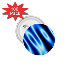 Grunge Blue White Pattern Background 1 75  Buttons (100 Pack)