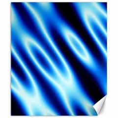 Grunge Blue White Pattern Background Canvas 20  X 24